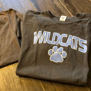 Two wildcats tshirts.
